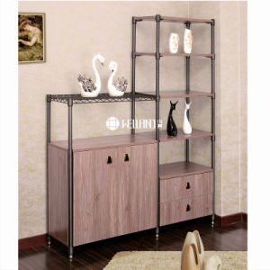 2017 New Design Adjustable Wine Storage Steel-Wooden Furniture pictures & photos