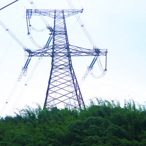 220kV Angular Steel Power Transmission Tower pictures & photos