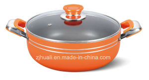 20cm Orange Cookware Non-Stick Casserole