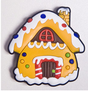 Decorative House Shape Polyresin Fridge Magnet pictures & photos