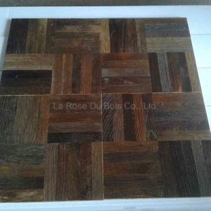 Reclaimed Elm Versailles Wood Floorings/Old Wooden Floors (Parquet) (05)