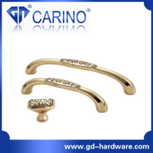 Oriental Classical Fancy Zamak and Ceramic Furniture Handle (GDC0356) pictures & photos