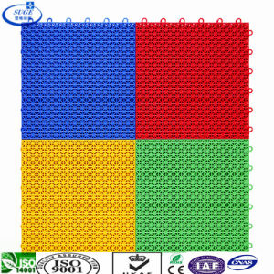 Various Colors Suspended Interlocking Sports Floor pictures & photos
