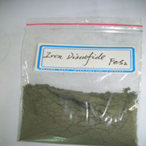 Battery Electrode Material Iron Disulfide (FeS2) pictures & photos