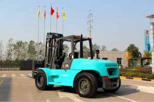10ton New Type Diesel Forklift with Isuzu Engine pictures & photos