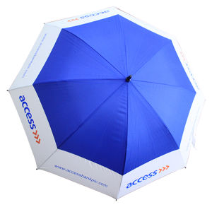 Ad Rain Umbrella with Logo for Promotional Gift (KU-01) pictures & photos