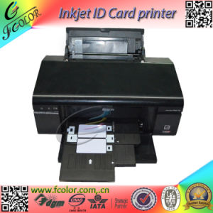 Automatic Inkjet ID Card Printer Continuous Card Printing Machine pictures & photos