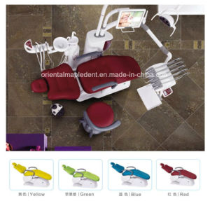CE Approved Dental Unit Chair with Dental LED Light (OM-DC6600) pictures & photos
