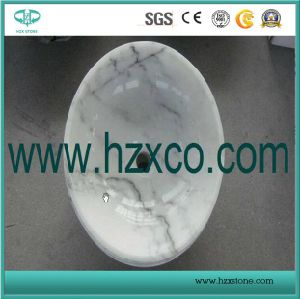 China Polished Guangxi White Marble for Countertop/Wall Covering pictures & photos