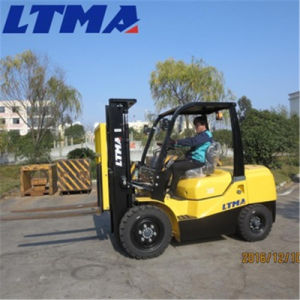 China 3.5 Ton Diesel Forklift Truck with Different Optional Accessories pictures & photos