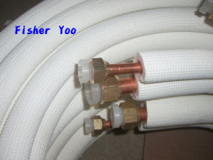 Air Conditioner Insulated Copper Aluminium Connecting Tube pictures & photos