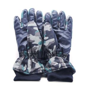 Camouflage Electric Warm Soft Heated Glove pictures & photos