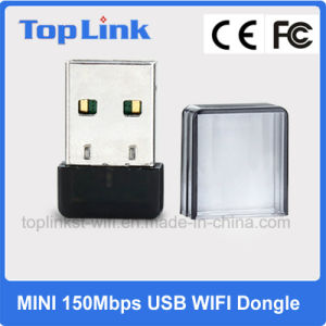 Low Cost 802.11n Mt7601 Mini 150Mbps USB WiFi Dongle Support Soft Ap Mode for Android TV Box pictures & photos