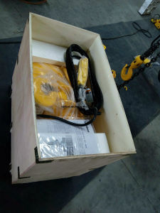 2ton Electric Hoist, Electrical Material (WBH-02001SF) pictures & photos