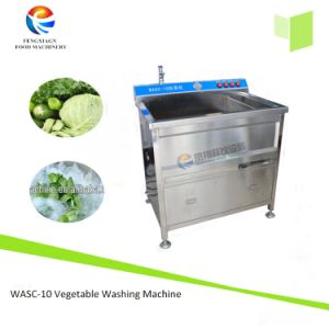 Ce Approved Small Type Cabbage Disinfecting Washing Machine Vegetable Washer pictures & photos