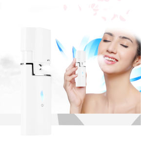 Handy Moisturizing Hydro SPA USB Rechargeable Cold Steam Face Steamer Portable Mist Sprayer, Professional Facial Steamers pictures & photos