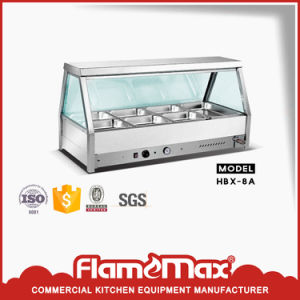 8 Pan Commercial Bain Marie Showcase (HBX-8A) pictures & photos
