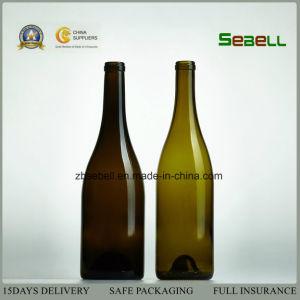Burgundy Bottle, China Glass Burgundy Wine Bottle 750ml (NA-009) pictures & photos