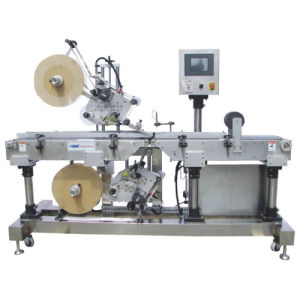 Automatic Top & Bottom Labeling Machine (ALB-220) pictures & photos