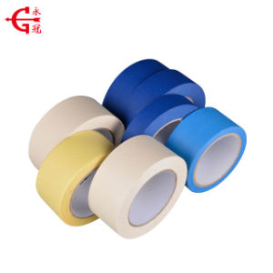 General Purpose Crepe Paper Masking Tape with ISO9001 pictures & photos
