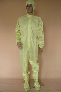5mm Strip Grid Antistatic Cleanroom Jacket Pants pictures & photos