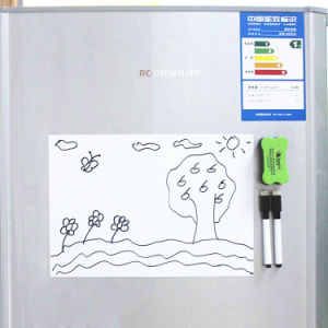 Magnetic Dry Erase Whiteboard Sheet for Kitchen Fridge pictures & photos