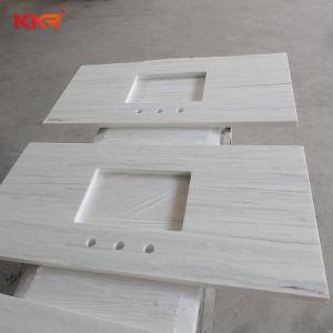 Sparkling White Quartz Stone Kitchen & Bathroom Vanity Top pictures & photos