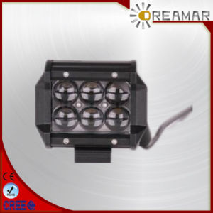 4D Lens 4 Inch 18W LED Light Bar Headlight for Jeep, Offroad, Track pictures & photos