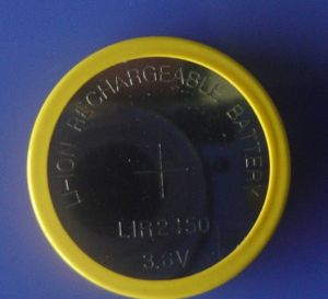 3.6V Rechargebale Li-ion Button Cell Battery (LIR2450) pictures & photos