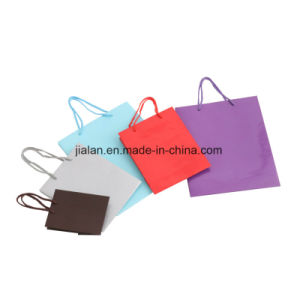 BSCI Audit Gift Packaging Paper Printed Shopping Carrier Gift Bags pictures & photos