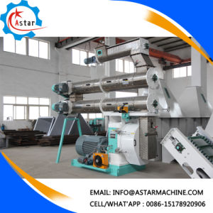 Szlh420 Stainless Steel Ring Die Poultry Feed Making Mill Machine pictures & photos