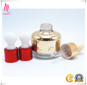 Cosmetic Glass Container with Childproof Cap pictures & photos