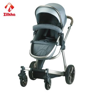 Baby Stroller with Frame and Regular Seat and Regular Carrycot and Carseat pictures & photos