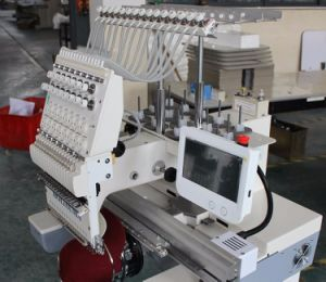 Holiauma Ho1501 High Quality Alibaba Cheap 1 Head Embroidery Machine for Sale Tajima Similar High Precision Touch Screen Control System Dahao Flat Embroidery pictures & photos