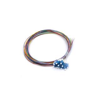 Fiber Optic Pigtial with 12 LC Connectors (Fiber jumper cables) pictures & photos