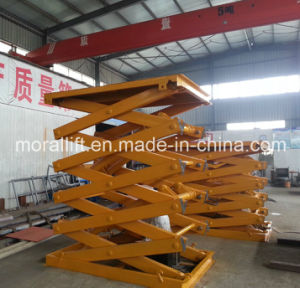 1.5 Ton Hydraulic Scissor Mezzanine Lifter (SJG) pictures & photos
