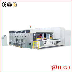 Sufficient 4 Color Carton Flexo Printer Slotter Machine (YD series)