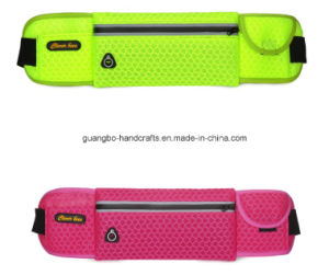 Custom Wholesale Zipper Outdoor Sports Cycling Canvas Waist Bag pictures & photos