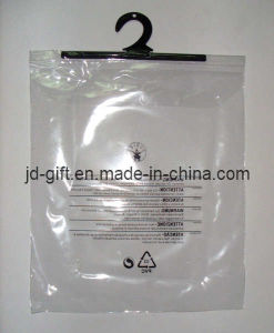 PVC Hook Bag for Garment Package pictures & photos