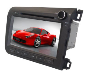 "HD 8"" Car DVD Player Head Unit GPS for Honda Civic Nav Radio System"