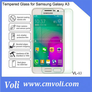 9h 0.26 Mm Tempered Glass Screen Protector for Samsung Galaxy A3 pictures & photos