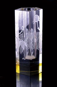 Crystal Craft Flower Vase for Gift (JD-HP-022) pictures & photos