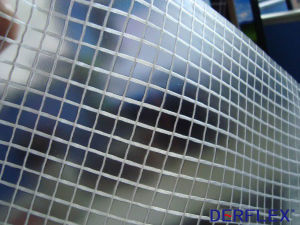 PVC Transparent Fabric Vinyl for Awning Cover Waterproof Material pictures & photos