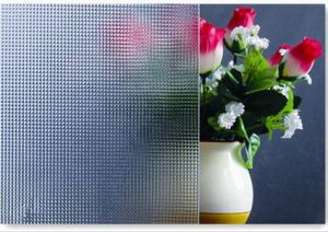 3-8mm Crystal Pattern Glass with CE&ISO9001