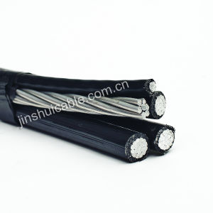 0.6/1kv Aluminum Core PE Insulated Cable Overhead pictures & photos