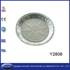 Aluminum Foil Round Tray (Y2808) pictures & photos