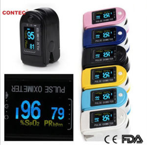 Fingertip Pulse Oximeter SpO2 Sensor- CE and FDA Approved (CMS50D) pictures & photos