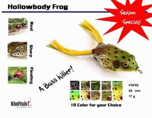 Fishing Tackle Fishing Lure Hollow Body Frog (FHF120)