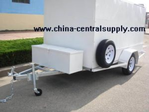 10x5 Box Trailer (CT0080E-5) pictures & photos