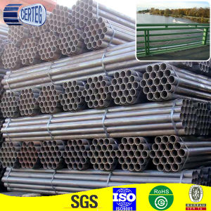 Mild Steel Hot Rolled Welded Round 48mm Steel Structure Pipe pictures & photos